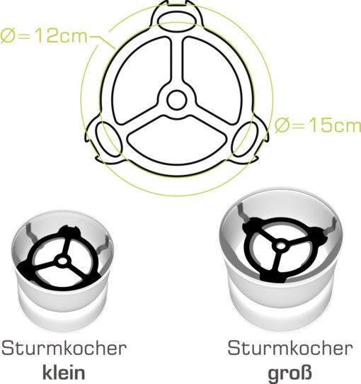 Kocherstern für Sturmkocher